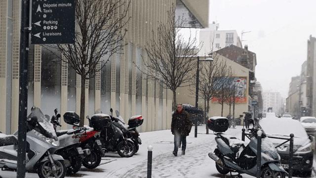 neige regions parisiennes